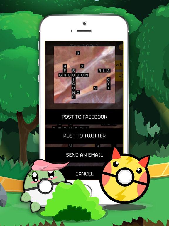 Words Quiz Pocket Monster Pro screenshot 4