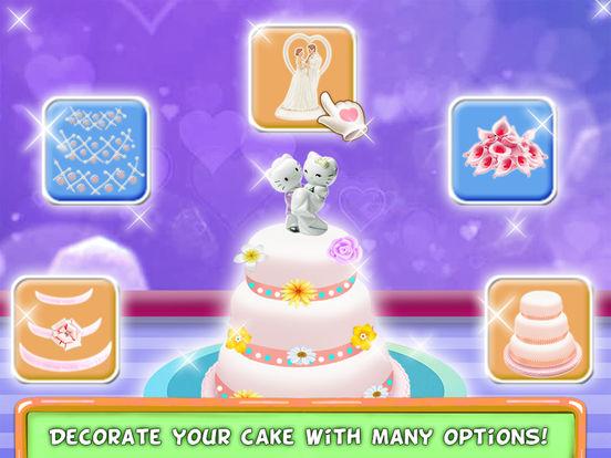 Вкусный свадебный торт Maker Скриншоты8