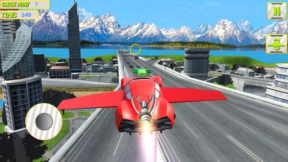 Futuristic Flying Car 3D screenshot 3
