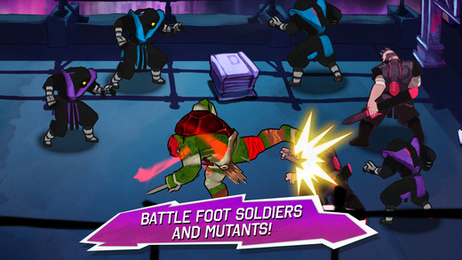 TMNT: Brothers Unite Screenshots