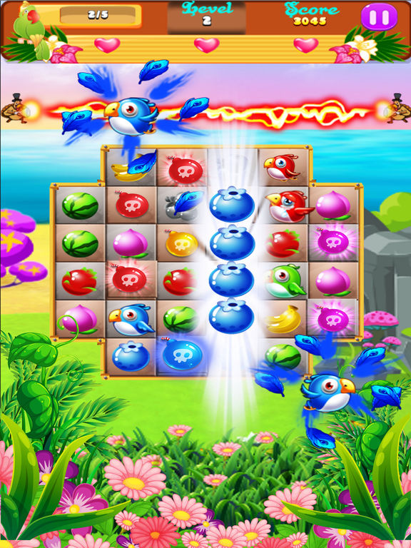 Sweet Fruits & Birds screenshot 10