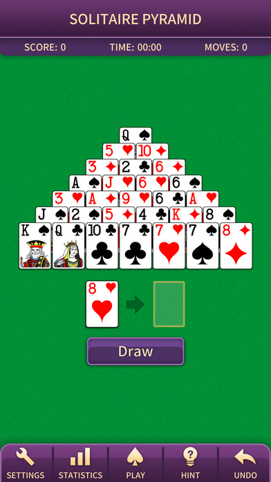 Screenshot 1 Pyramid. Classic card game