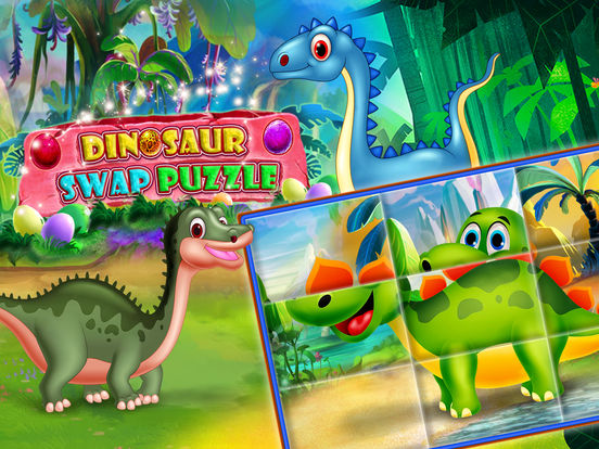 Dinosaur swap puzzle screenshot 10