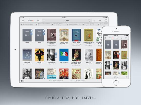 Screenshot #1 for tiReader 2 Pro – eBook and Comic book reader