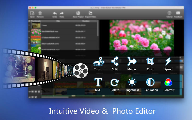 Screenshot #2 for Video Editor MovieMator Pro – Movie & Film Maker!