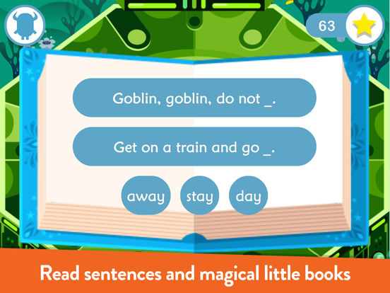 Teach Your Monster to Read - Phonics and Reading Screenshots