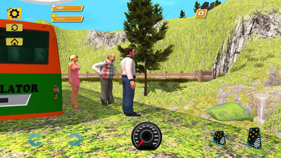 Bus Simulator : Extreme Offroad Drive screenshot 3