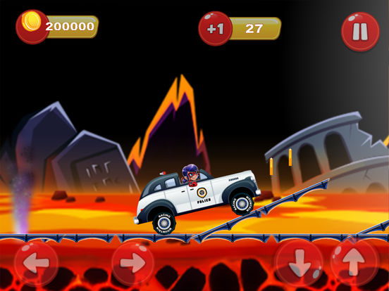 Ladybug Hill Racing - Adventure Time Version iPad Screenshot 4