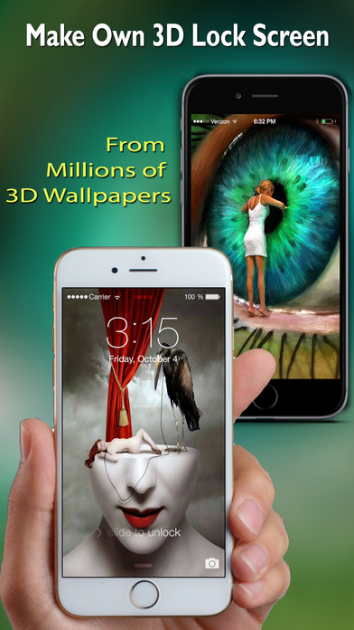 3D Retina Wallpapers Pro Screenshots