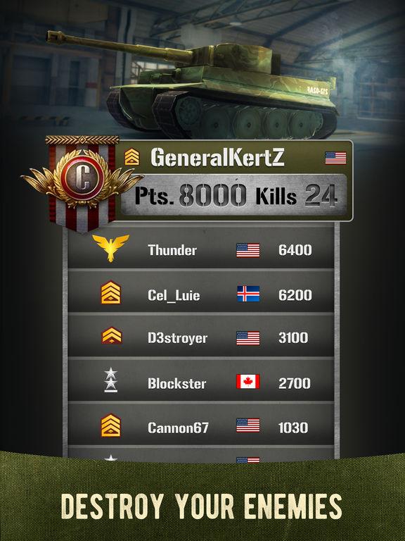 War Machines: 3D Multiplayer Tank Shooting Gamescreeshot 5