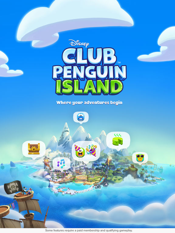 Club Penguin Island iPad