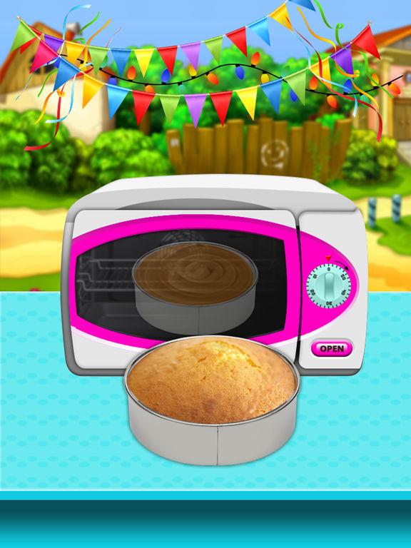 Ice Cream Doll Cake Maker 2017 screenshot 9