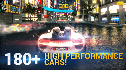 Screenshots of Asphalt 8: Airborne for iPhone