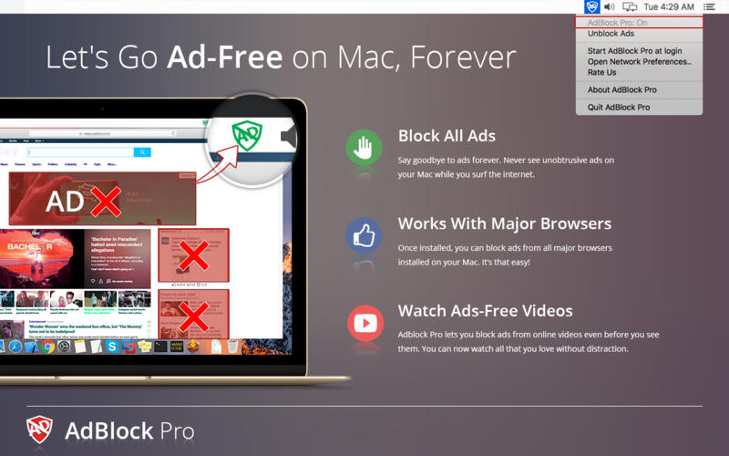 AdBlock Pro Screenshot - 1