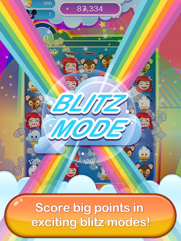 Screenshot #5 for Disney Emoji Blitz - Classics