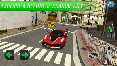 Sports Car Test Driver: Monaco Trials screenshot 5