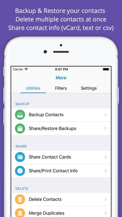 ContactsXL 2017 Screenshots