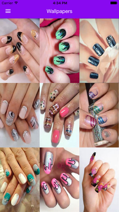 Nail Art Manicure Booth: Beauty Salon Nail Designs download free ...