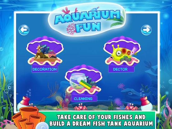 Kids aquarium fun create your dream fish tank on the for Dream of fish tank
