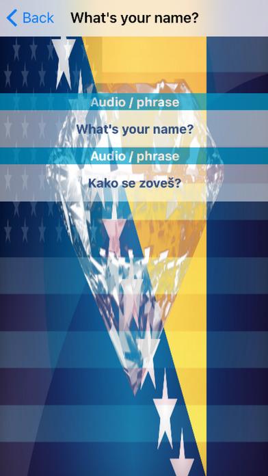 Bosnian Phrases Diamond 4K Edition screenshot 3