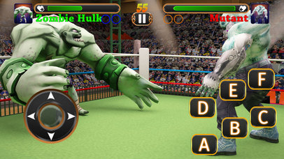 Incredible Monster Superheroes Ring Battle screenshot 1