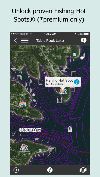 Fishidy local fishing reports hot spot maps on the app for Fishing hot spots maps