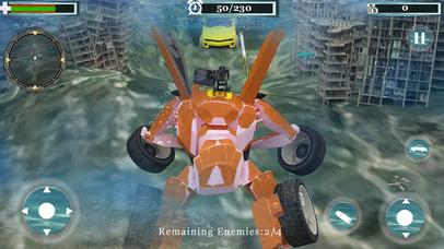 Underwater Robot Car Transformation screenshot 4