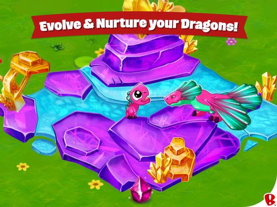 Screenshots of DragonVale for iPad