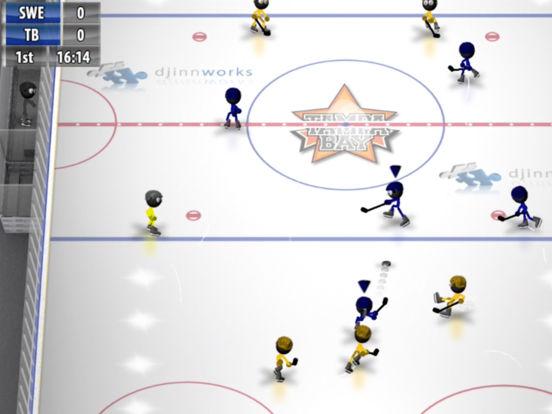Stickman Ice Hockey Screenshots