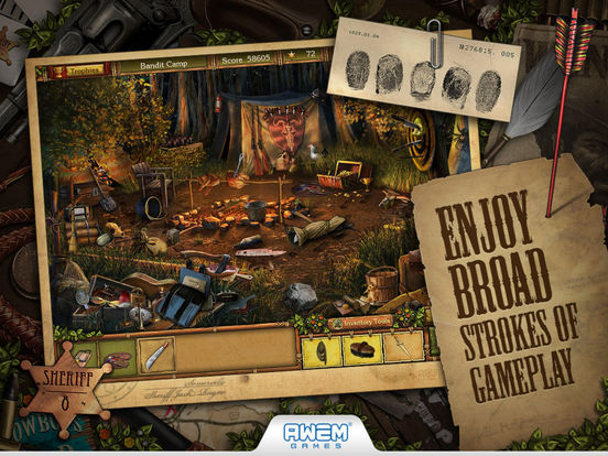 Golden Trails: Hidden Object Adventure Western на iPad