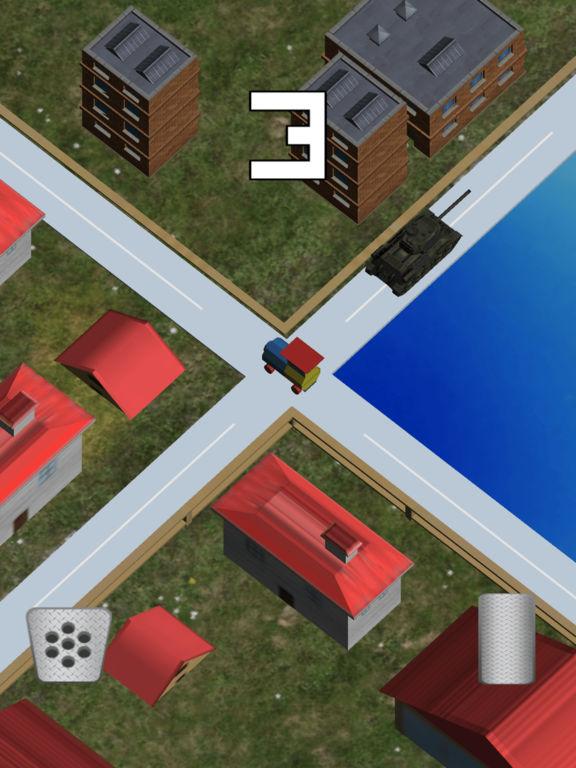 Mini Train Street Rush screenshot 6