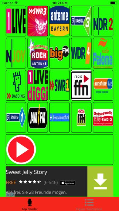Internet-Radio Player screenshot 1