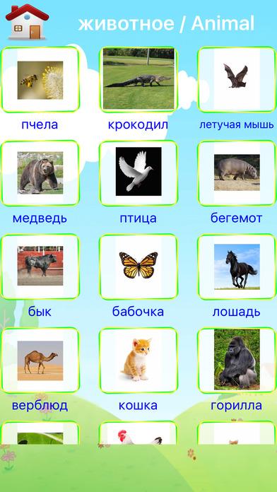 Russian First Words screenshot 4