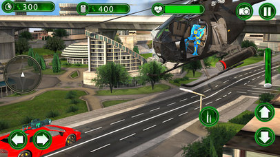 Super Helicopter Robot Hero screenshot 3