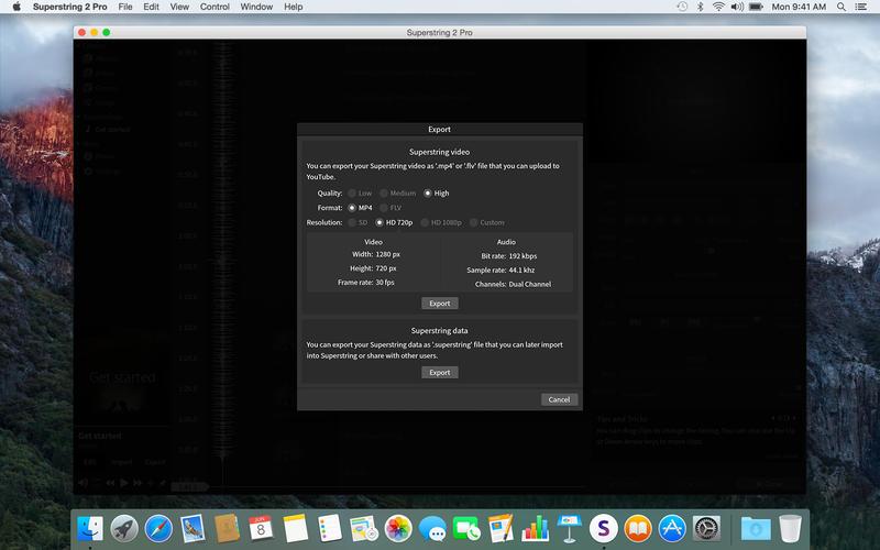 Superstring 2 Pro - Lyric video maker Screenshots