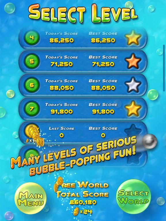 Bubble Bust! HD - Pop Bubble Shooter для iPad