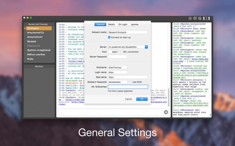 Die Neuen Chatrume - Chat auf Linux oder Macintosh