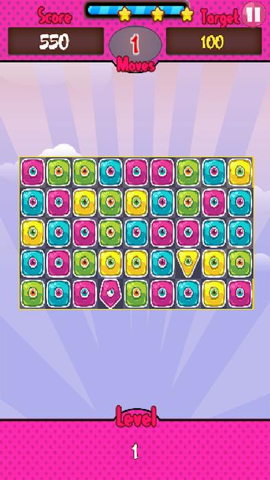 Monster Candy Match screenshot 1