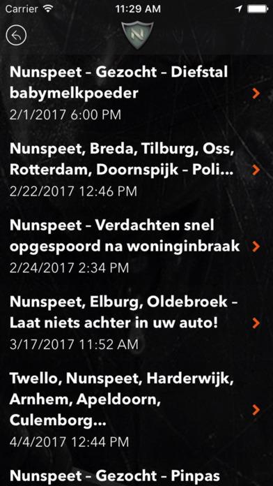 Buurtwacht Nunspeet screenshot 4