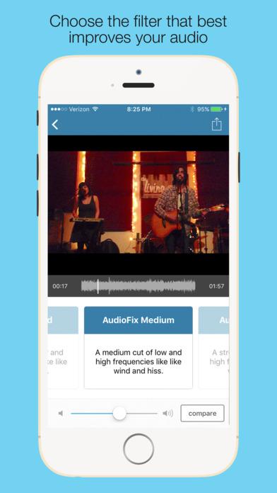 how to fix wonky instagram audio