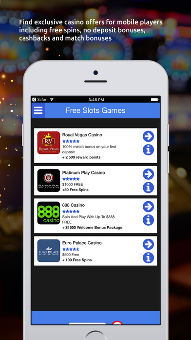 Free slots games with bonuses
