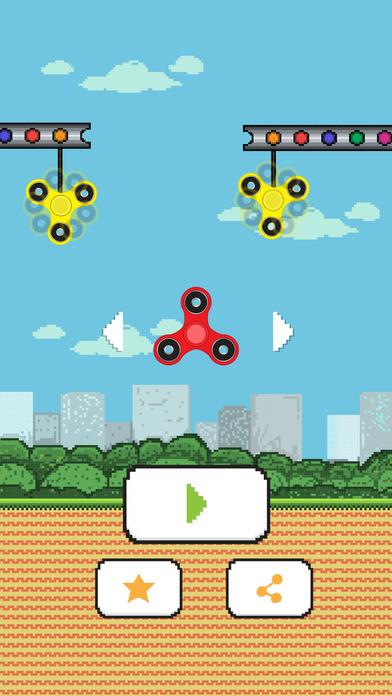 Fidget Spinner - Swing Spin Returns screenshot 1