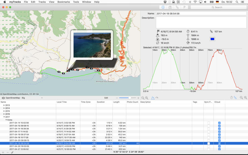 macOS Geotagging App myTracks Celebrates Its 10th Anniversary Image