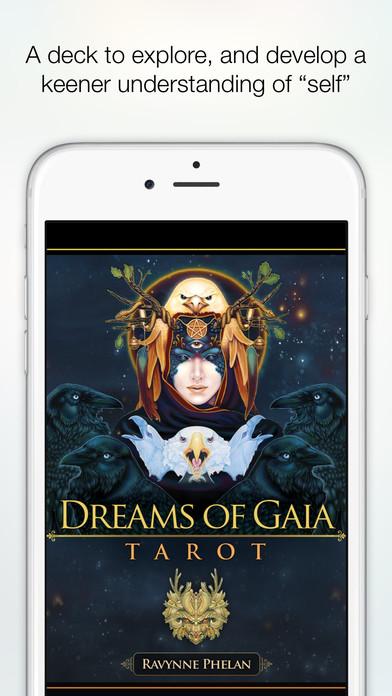 Dreams of Gaia Tarot - Ravynne Phelan Screenshot 1