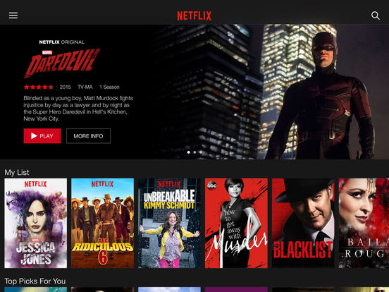 Screenshot #1 for Netflix