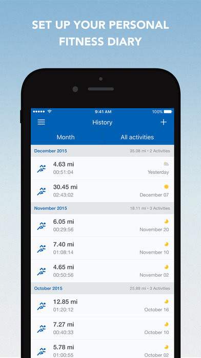 Runtastic PRO Running, Jogging and Fitness Tracker Screenshots
