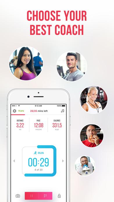 RUNNING for weight loss: workout & meal plans Screenshots