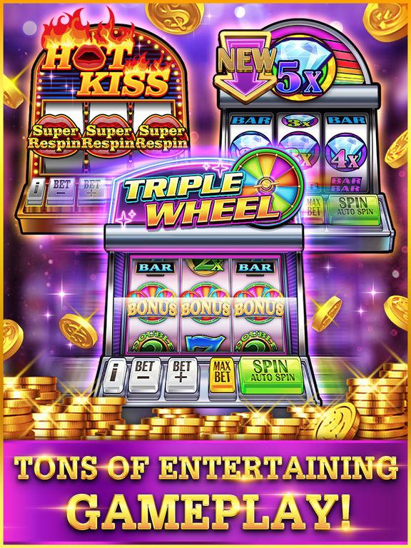 Screenshots of Slots!! - Reel Vegas for iPad