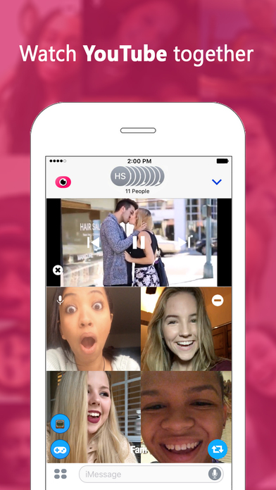 download Fam — Group video calling for iMessage apps 2