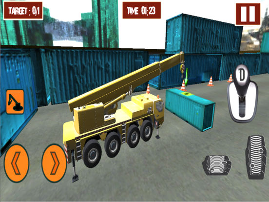 Heavy construction crane 2017 screenshot 4